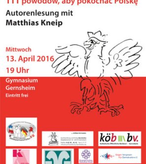 Lesung mit Dr. Matthias Kneip