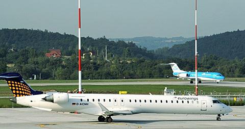 Der Krakauer Flughafen ist der zweitgrößte Flughafen in Polen