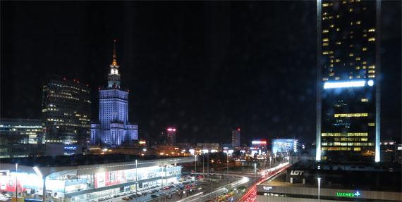 Nachts in Warschau, Foto: Pixabay.com, Adrega, CC0