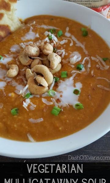 Simple Soups: Vegetarian Mulligatawny #StonyfieldBlogger