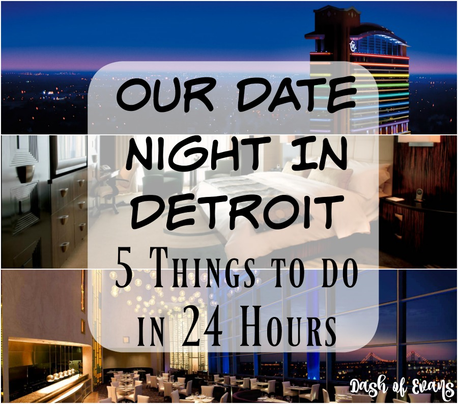Our overnight stay in Detroit: 5 thing to see and do in 24 hours. via @DashOfEvans #VisitDetroit #DashAway #DepictTheD #DetroitLove #ComebackCity