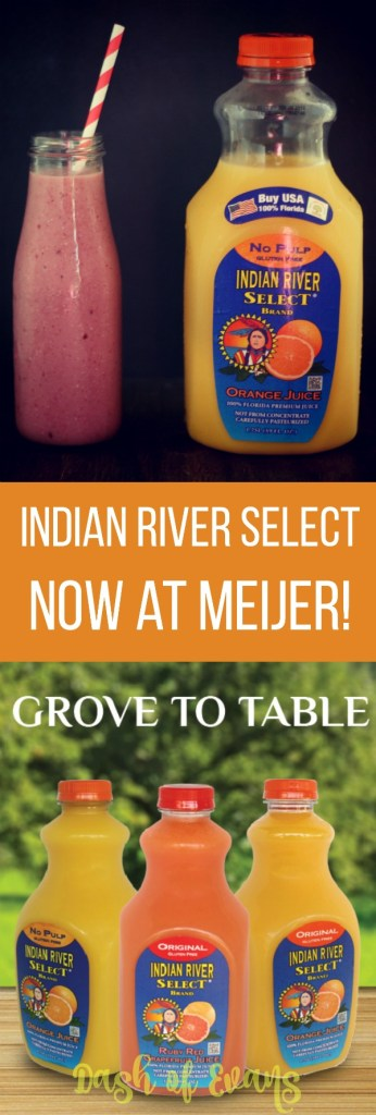 Indian River Select juices are now available at Meijer! via @DashOfEvans