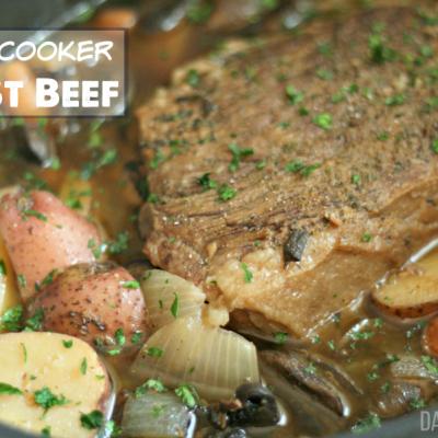 Comfort Food Classic: Slow-Cooker Roast Beef