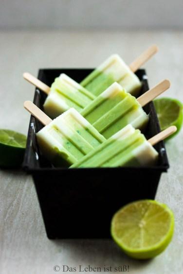 Avocado Limetten Eis (2 von 1)
