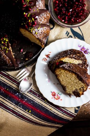 Marmorkuchen mit Schokolade und Granatapfel (67 von 69)