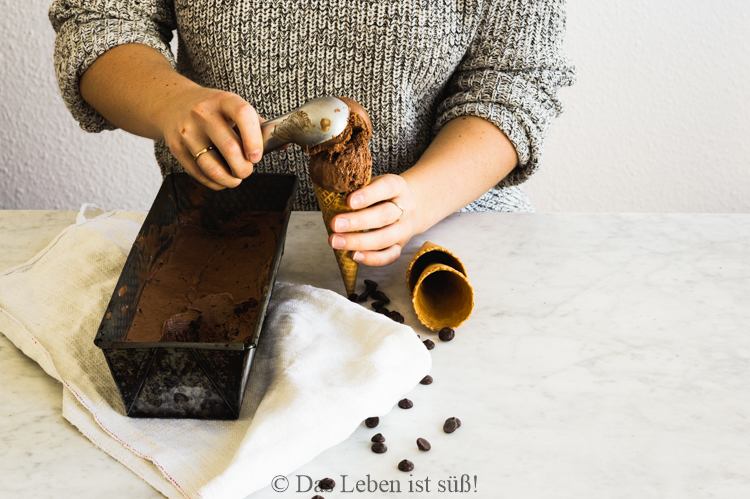 Doublechocolate ice cream (1 von 1)