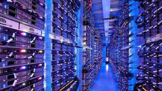 Microsoft data centers, like this one, host the infrastructure for the company's Azure cloud platform.
