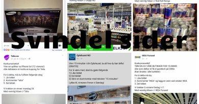 Norge flommer over av falske facebook sider