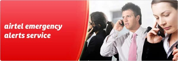 Bharti Airtel introduces Emergency Alerts Service for Customers
