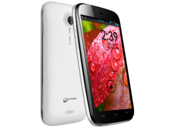 Micromax unveils A116 Canvas HD with 5inch 720p Display, Quad-core processor