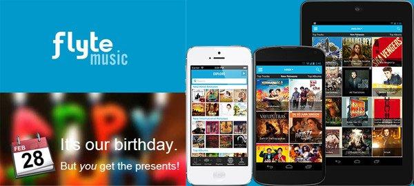 Get 1000 Free Albums on Flipkart Flyte 1st Anniversary Celebration