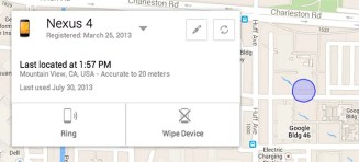 Google unveils Android Device Manager to Track your lost Android Device