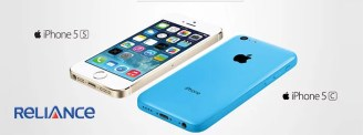 Apple Officially launches iPhone 5s and 5c in India - Get it as Low as Rs 2599 a month from RCom