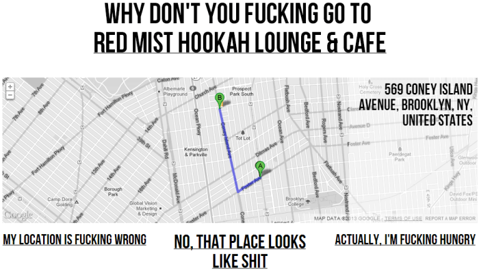Where The Fuck Should I Go For Drinks 2