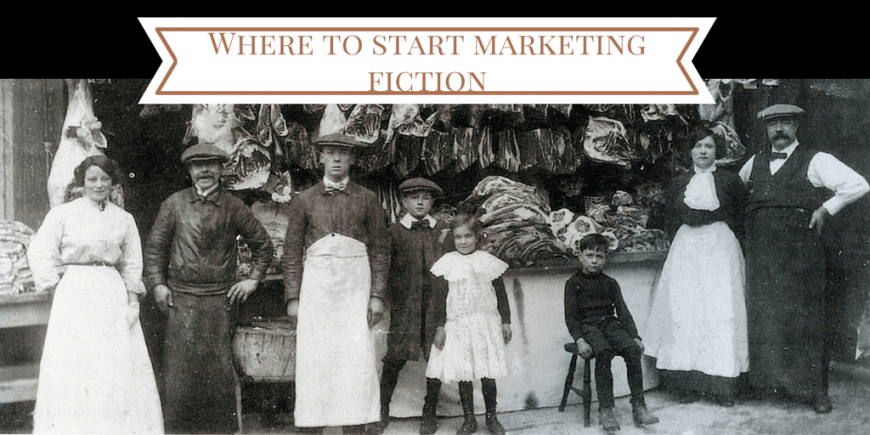 Where to start marketing fiction