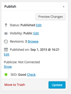 screenshot 25 - posts and pages - publish for full seo