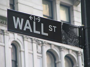 Wall Street Sign. Author: Ramy Majouji