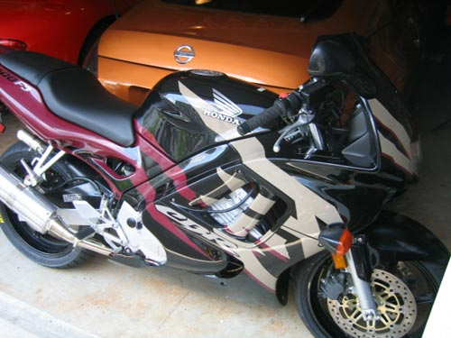 My Honda CBR 600 F3