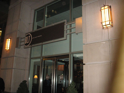 BLT Steak Washington DC entrance