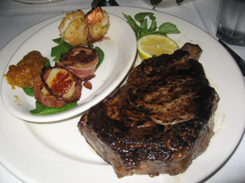 Ribeye from Mortons