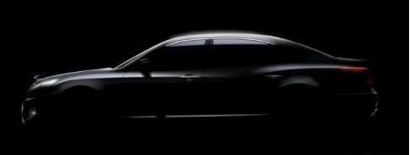 Hyundai Equus teaser