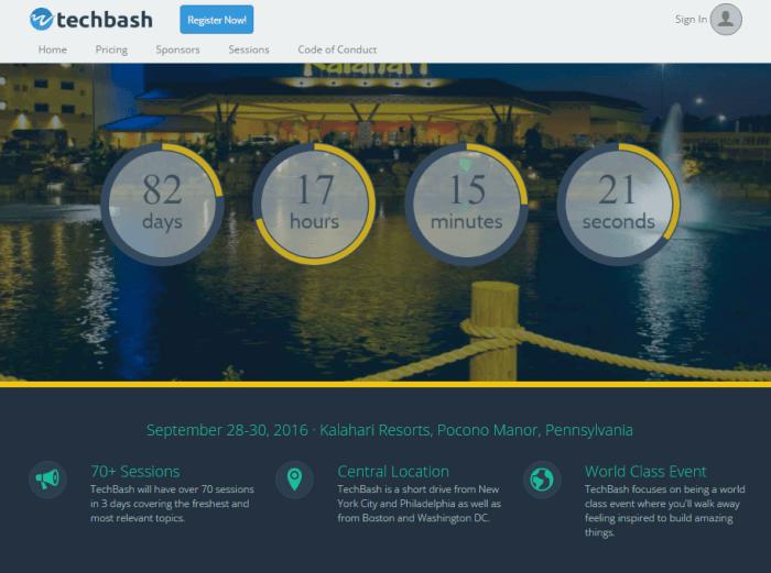 tech-bash