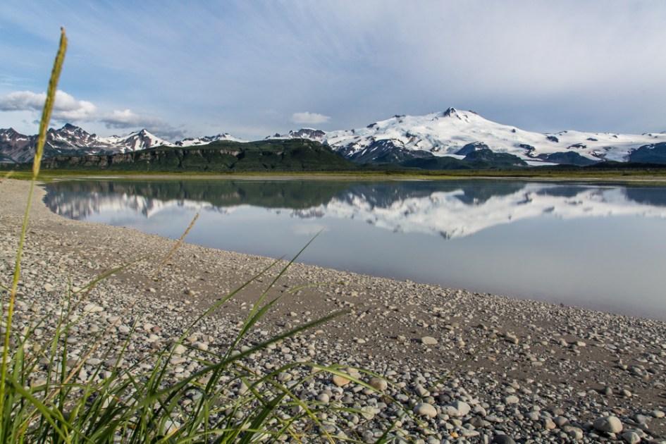 Mount Douglas from the Douglas River Estuary