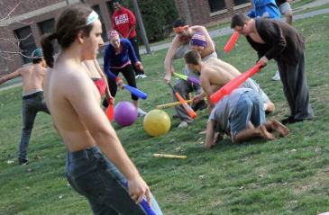 Photo of people playing John Ball