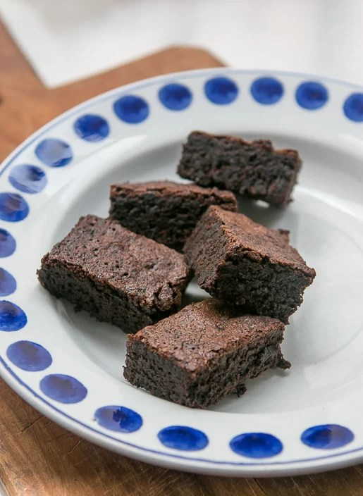 Salty, Deep-Dark Chocolate Brownies - David Lebovitz