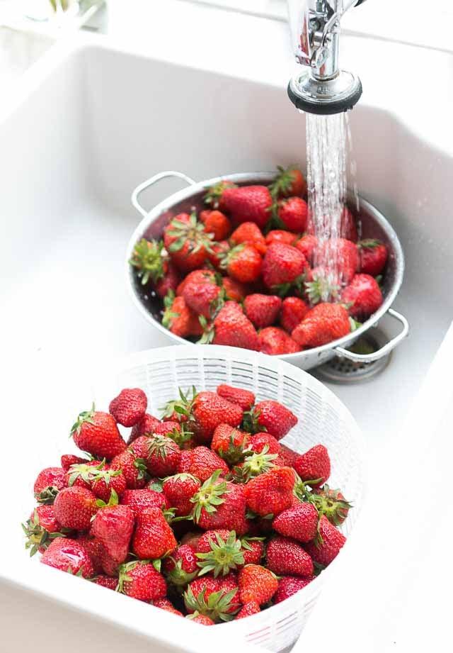 Pickled Strawberry preserves recipe