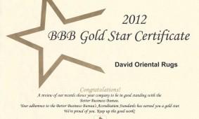 2012 BBB Award Winner