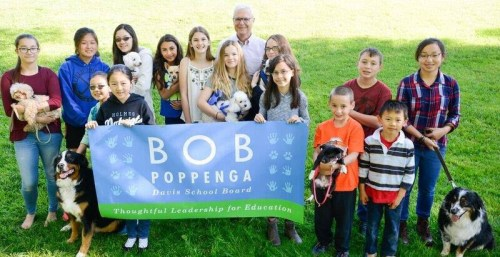 Poppenga For School Board at Saturday's Farmers' Market & Save The Date, August 27