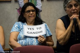 Council Affirms February Vote for Gandhi Statue in Central Park after Long Contentious Meeting