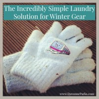 The Incredibly Simple Laundry Solution for Winter Gear