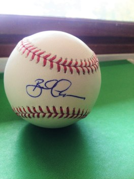 PRICELESS - Signed Tigers baseball from manager Brad Ausmus!