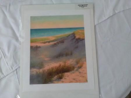 Dune landscape print by Kathleen Kalinowski