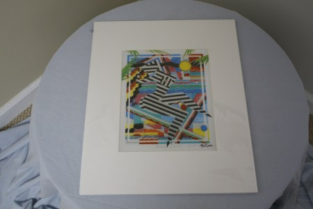 "$60 VALUE - ""Primal Dance"" print by artist Marvin Murphy"