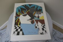 "$60 VALUE - ""Joy of Sax"" print by artist Marvin Murphy"