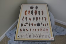 "$100 VALUE - ""The Great Chile Poster"" framed poster donated by the Art Spot"