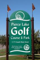 $230 VALUE - Bundle including: 1 Golf Pass at Pierce Lake Golf Course for (4) 18-hole round of golf with cart as well as 1 - $50 gift card to The Common Grill