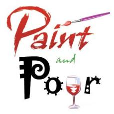 $70 VALUE - Two $35 gift certificates for Paint and Pour Studios in either Brighton or Ann Arbor
