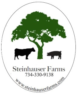 $35 VALUE - Gift certificate for Steinhauser Farms beef and pork, raised in Ann Arbor