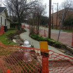 Cumberland sidewalk extension to connect with S. Congress bus stop