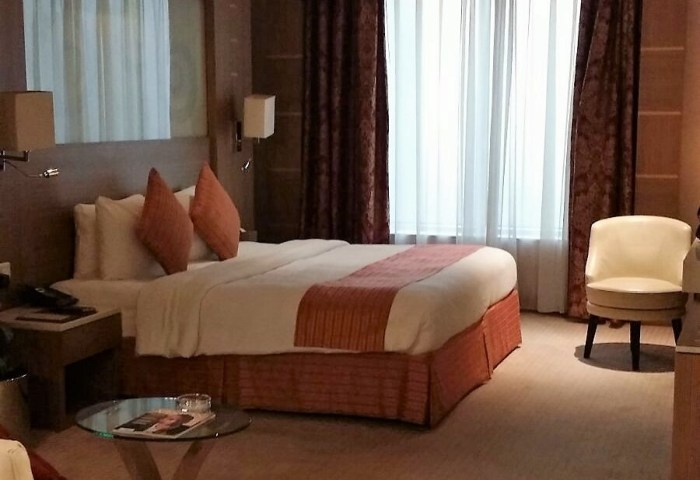 Relaxing in Dubai