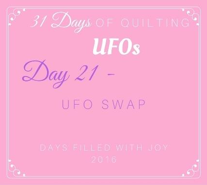 Day 21 – UFO Swap