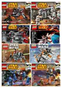 star wars legos on sale
