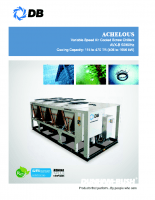 Achelous-Variable speed air cooled screw chillers