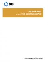 Modular central station air handling units-CS3 series