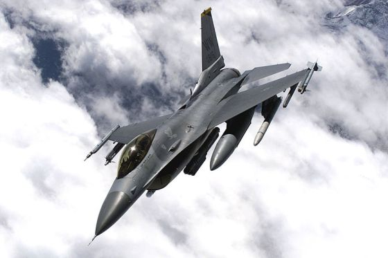 F-16 Engines Stolen From Military Base Without Detection