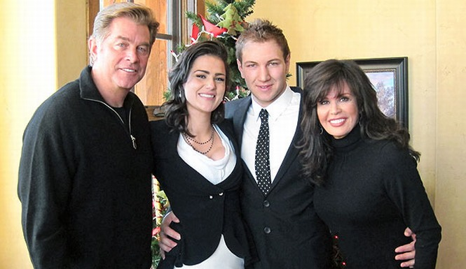 Marie Osmond's Daughter Weds Only 10 Days After Engangement